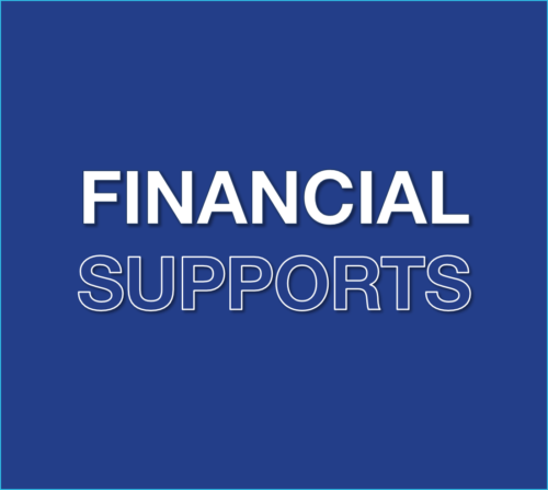 Financial Supports Ireland, Coronavirus Update, Blue, Financial Supports