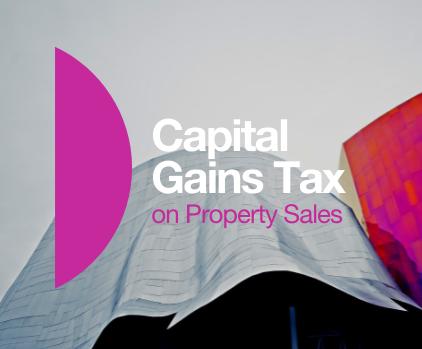 Capital Gains Tax Property Sale